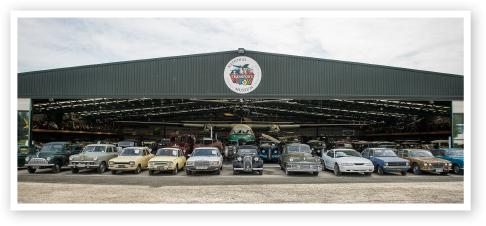 Hangar Exterior - Transport Museum Wanaka