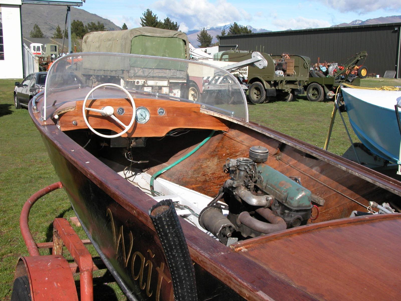 Hamilton Jet Boat