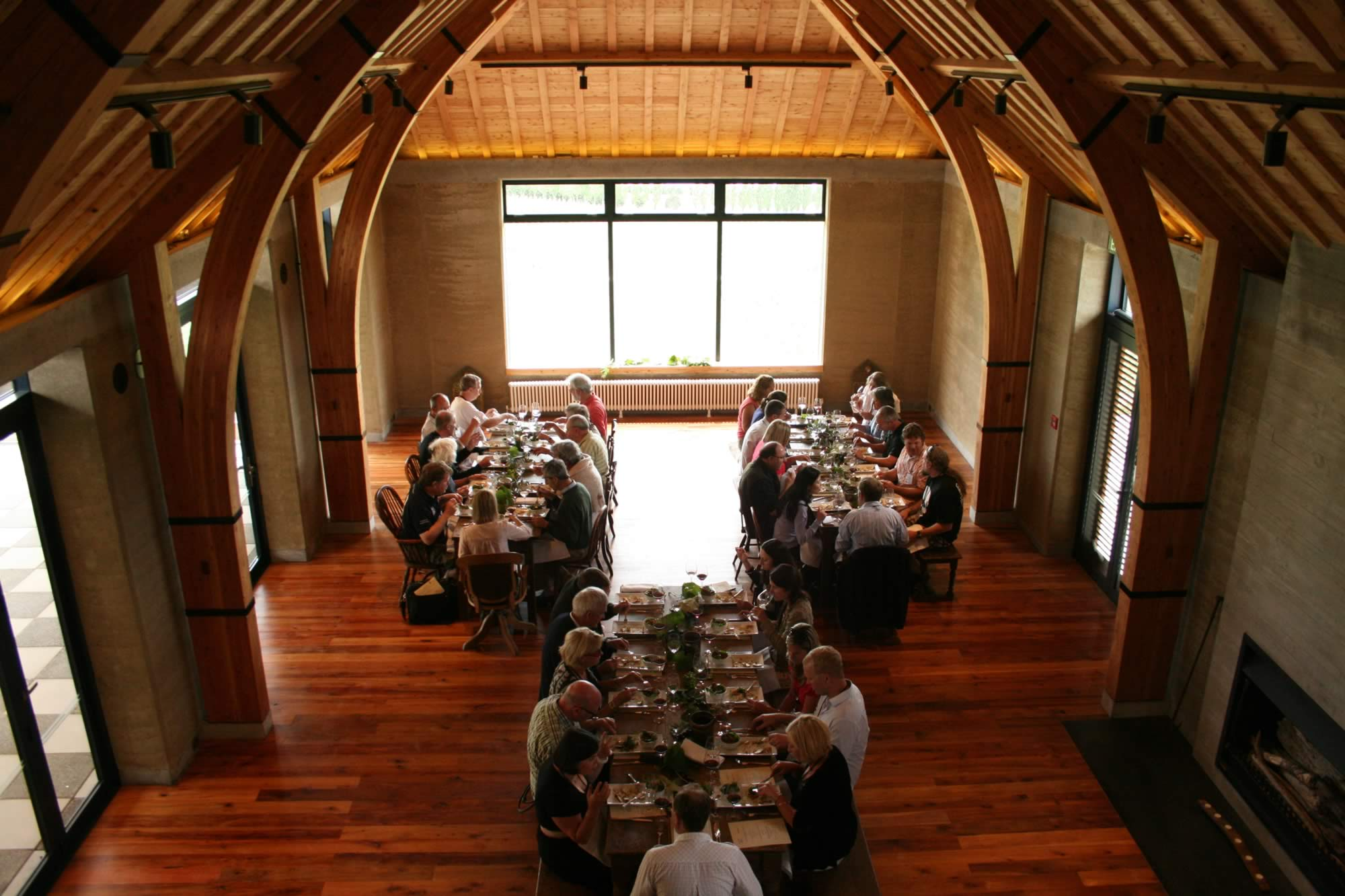 Pinot Lunch Your Events at The Rippon Hall Wanaka