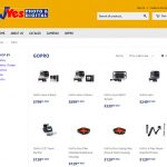 Website Portfolio e-commerce Wanaka Camera Shop