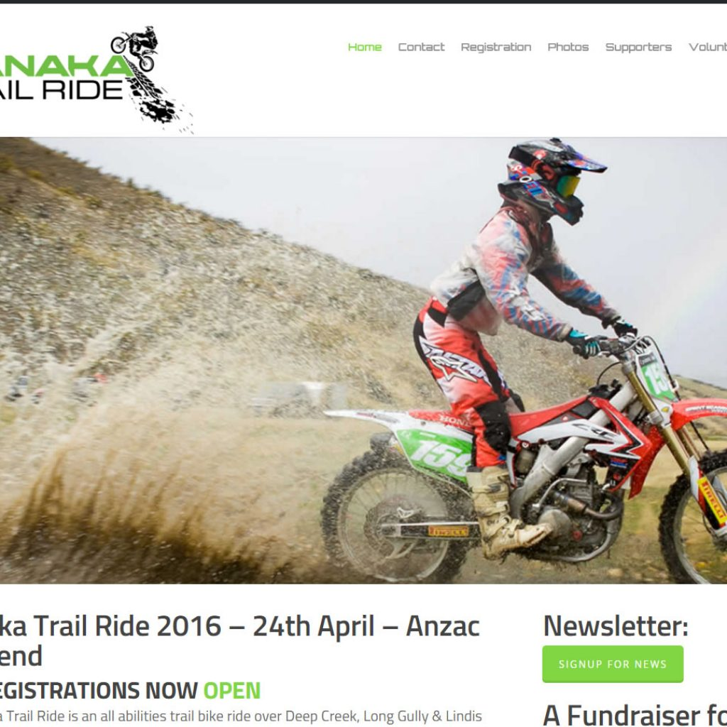 Wanaka Website Design Trail Ride