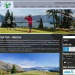 Website portfolio Wanaka Golf Club