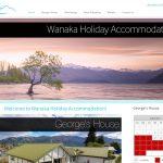 Website Wanaka Holiday Accommodation