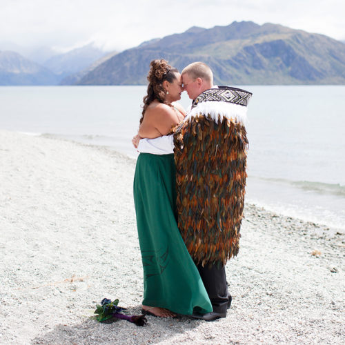 Wanaka Wedding Hongi
