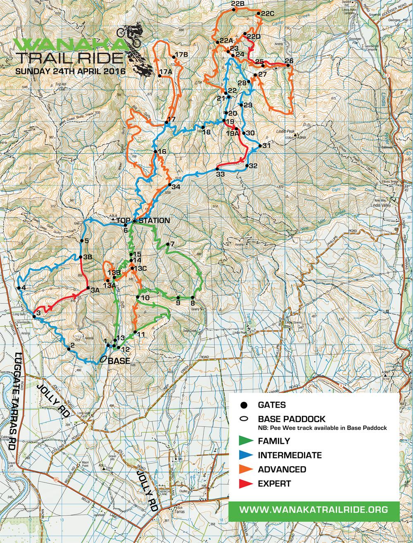 2016 Trail Map