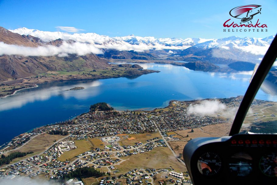 Wanaka Helicopters introductory lesson