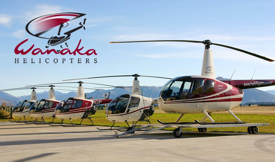 Wanaka Helicopters fleet